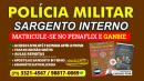 Curso de SARGENTO INTERNO da POLÍCIA MILITAR DA BAHIA.