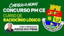 CURSO DE RACIOCÍNIO LÓGICO - PM CEARÁ 2021
