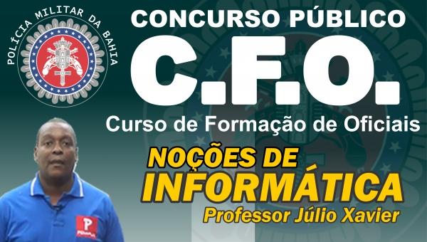 CONCURSO C.F.O. - INFORMÁTICA